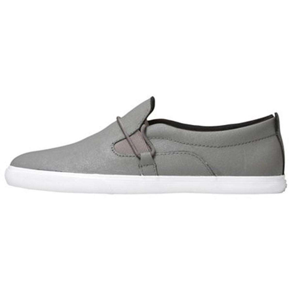 SUPRA Skateboard Styler Schuhe Belay grau