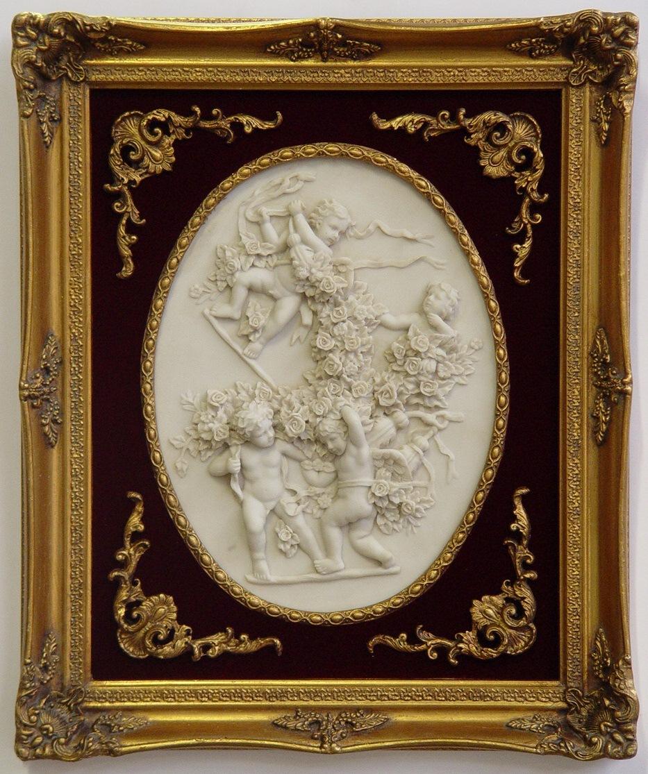 Casa Padrino Barock Bilderrahmen Gold Antik Stil - Wanddekoration ...