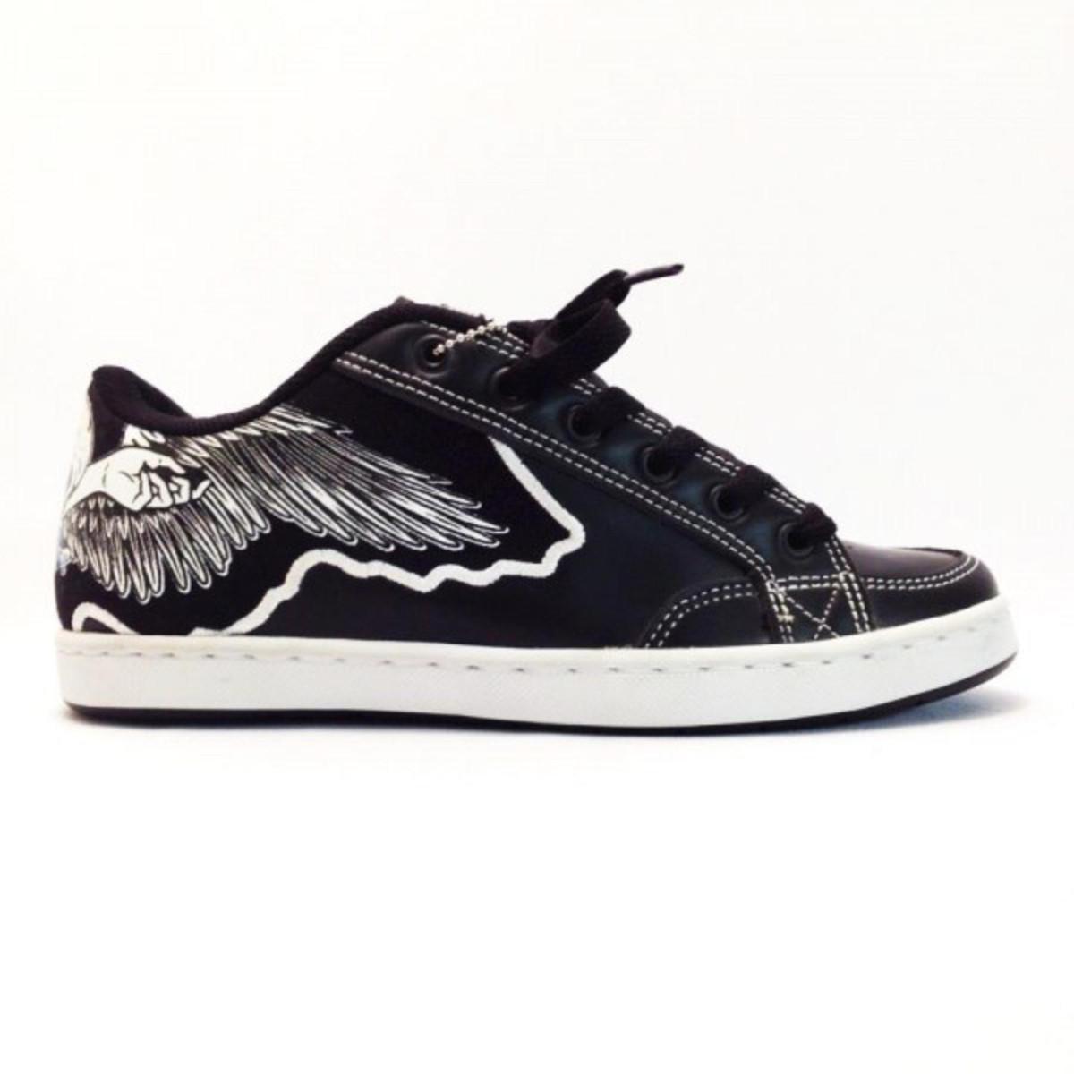 Osiris Skateboard Schuhe Hybrid schwarz  Weiß Turnschuhe schuhe