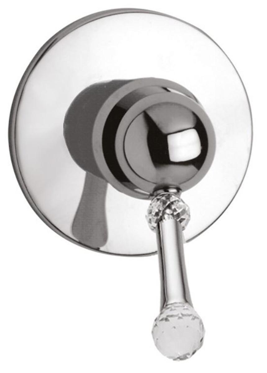 Luxus Dusch Unterputz-Einhebelmischer mit Swarovski Kristallglas ...