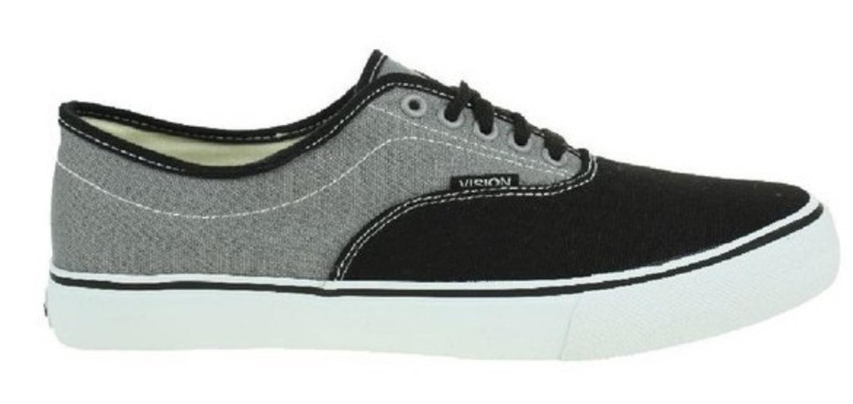 Vision Street Wear Skateboard Schuhe Sciera13 schwarz grau - Turnschuhe Turnschuhe