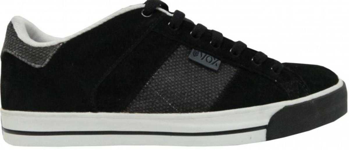 Vox Skateboard Schuhe Trooper Strubing2 schwarz Burlap