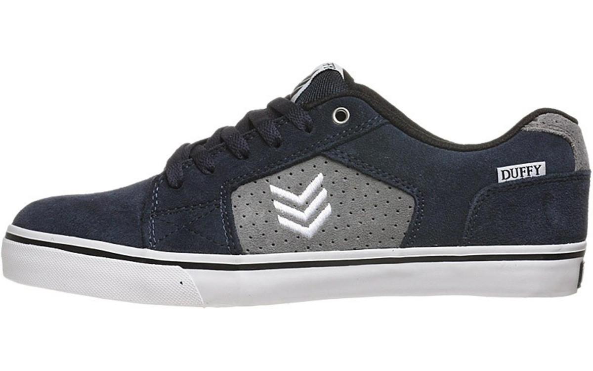 Vox Skateboard Schuhe Duffy Navy grau Weiß