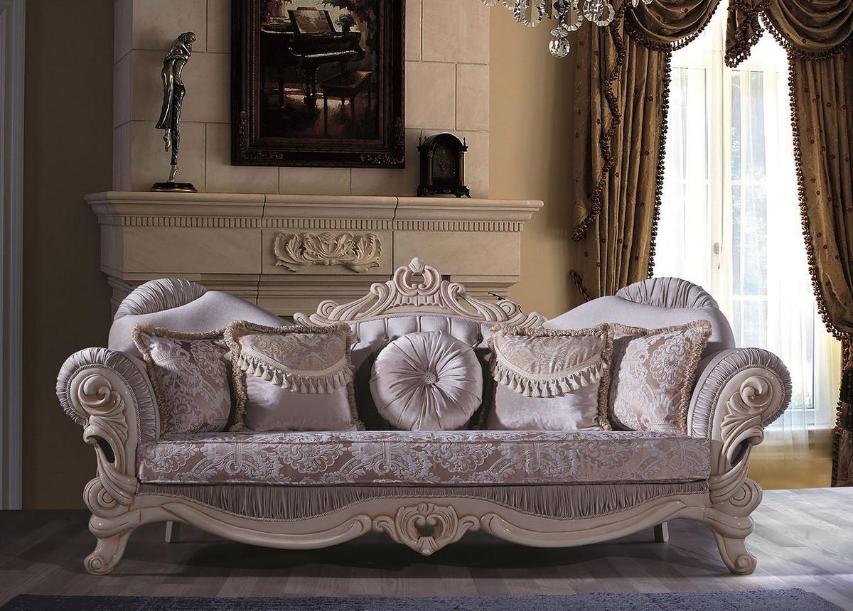 Casa Padrino Luxus Barock Wohnzimmer Sofa mit ...