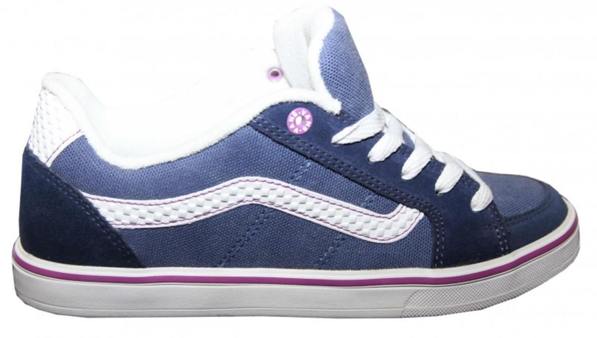 Vans Skateboard Schuhe Transistor Navy Weiß Vans schuhe