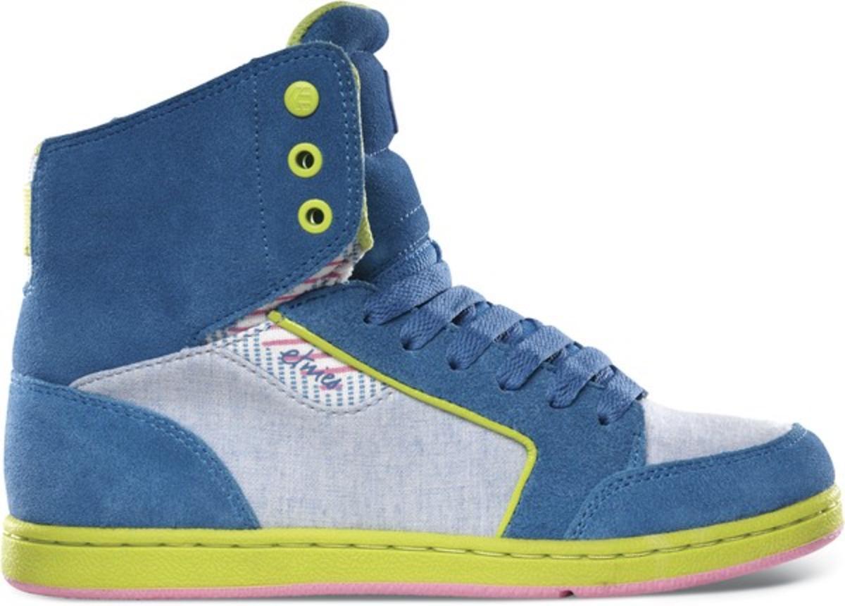 Etnies Skateboard Damen Schuhe Woozy Blau Etnies schuhe