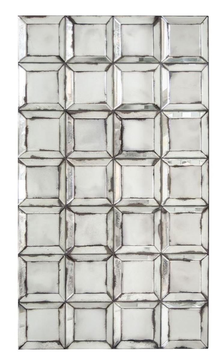 Casa Padrino Designer Wandspiegel Mit Antikem Spiegelglas 80 X H