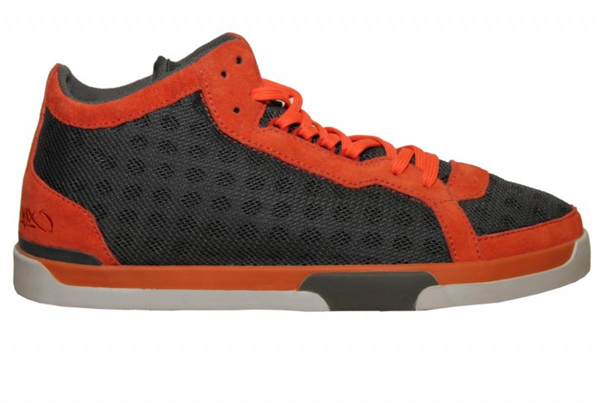 K1X Skateboard Schuhe Play Hard GreyOrange Shoes