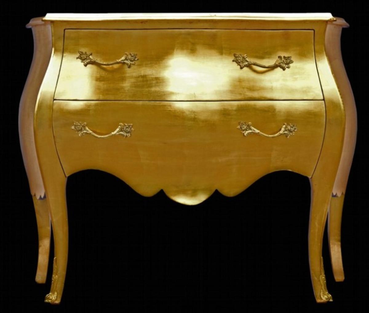 Barock Kommode Gold 100cm Kaufen Bei Demotex Gmbh