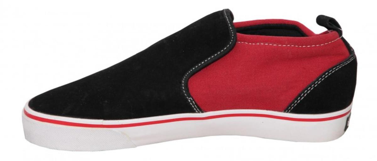 Vox Skateboard Schuhe Modelo schwarz rot  schwarz rot