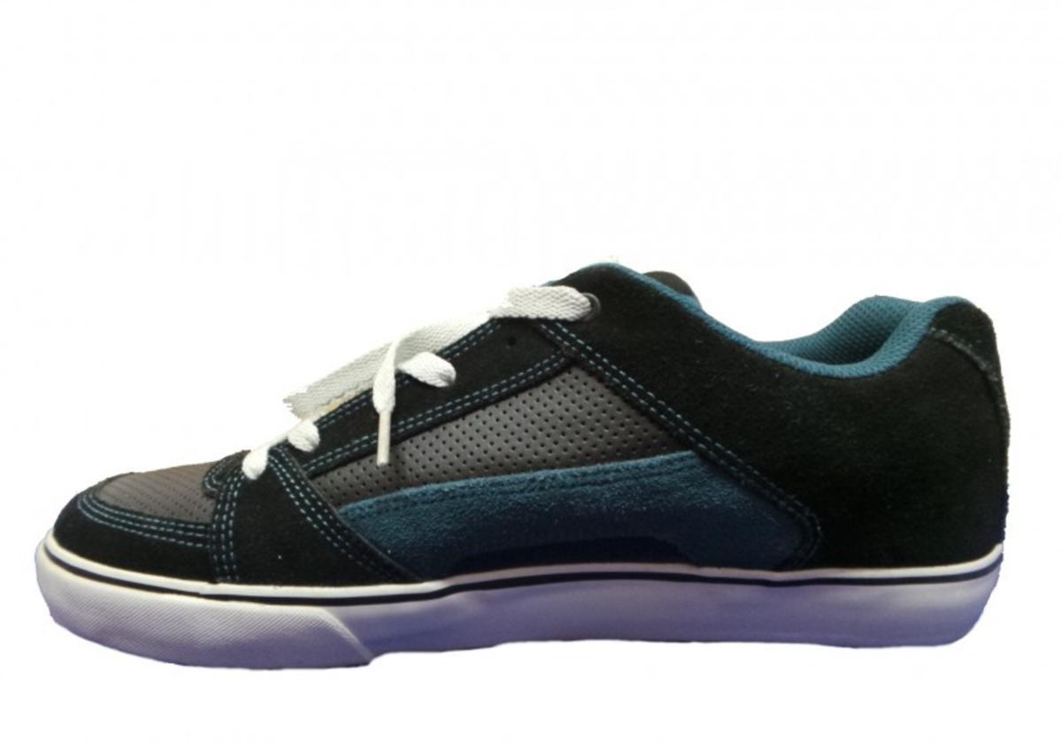 Etnies Skateboard Schuhe Schuhe Schuhe DVL schwarz Navy grau ad3f23