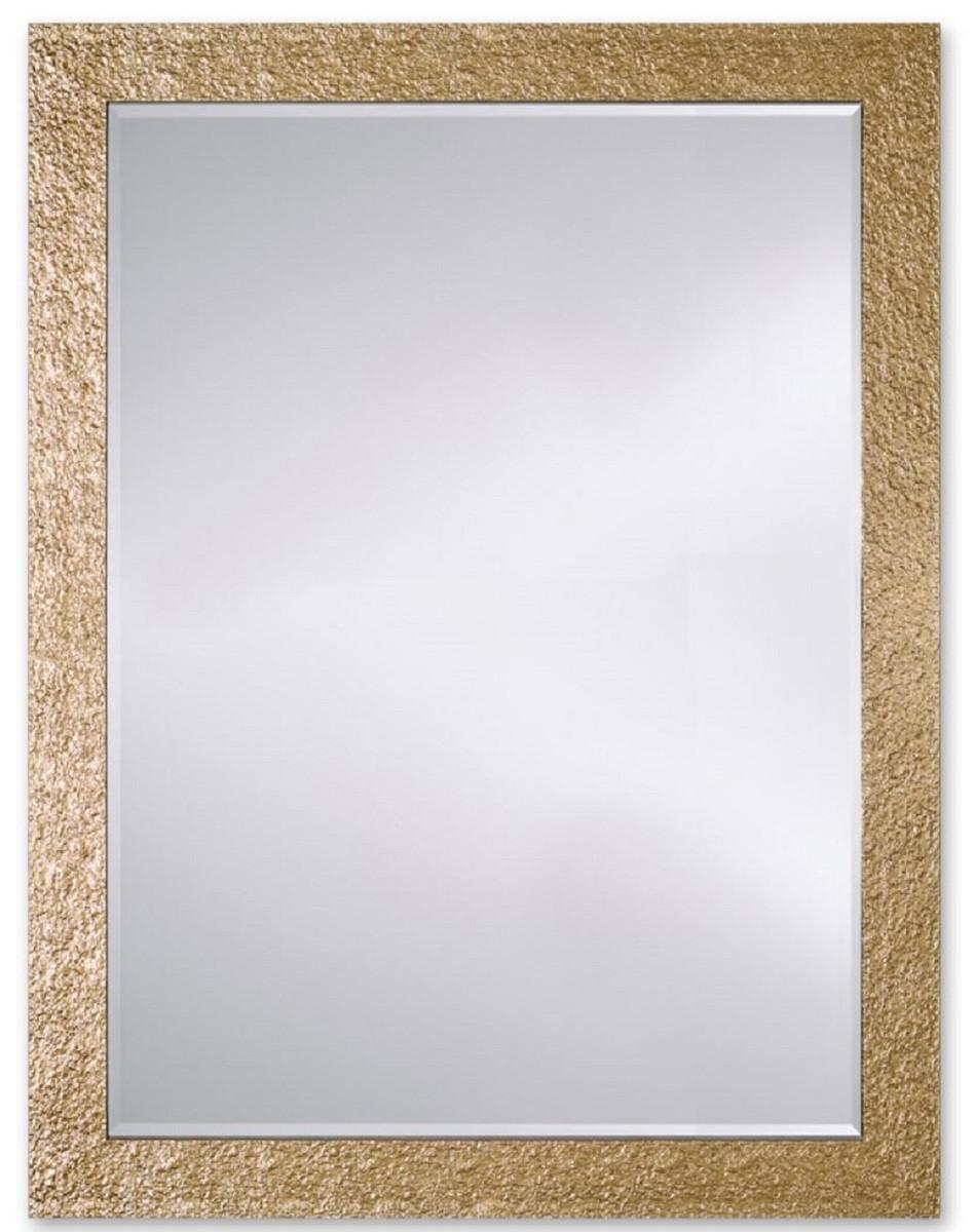 Casa Padrino Luxus Wandspiegel Gold 6 x H. 6 cm - Designer Wohnzimmer  Spiegel