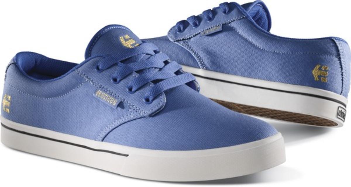 Etnies Skateboard Schuhe Jameson Jameson Jameson 2 Eco Blau Weiß Etnies schuhe 729168