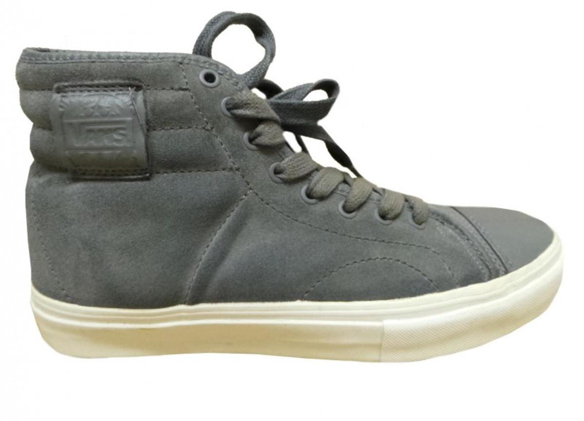 Vans Sport Schuhe American grau Weiß