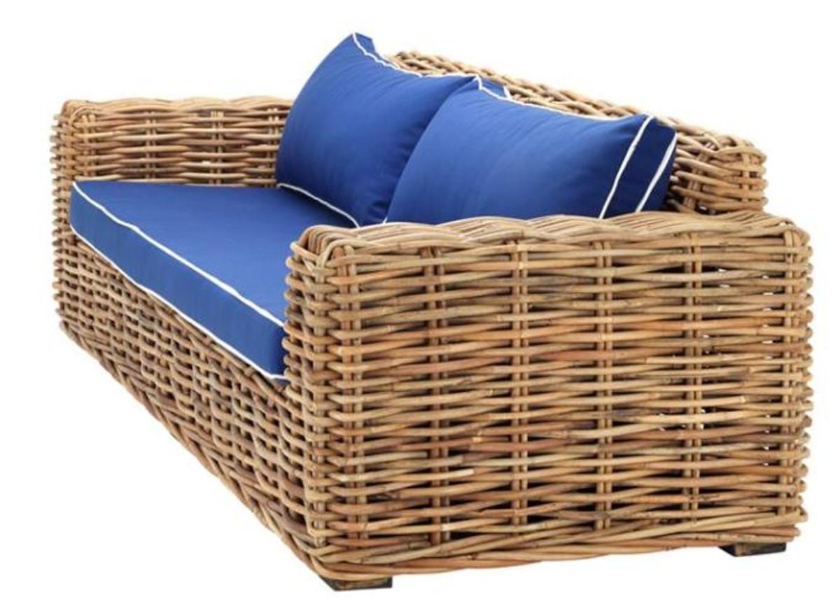 casa padrino designer rattan sofa 230 x 88 x h 69 cm luxus wohnzimmer m bel kaufen bei. Black Bedroom Furniture Sets. Home Design Ideas