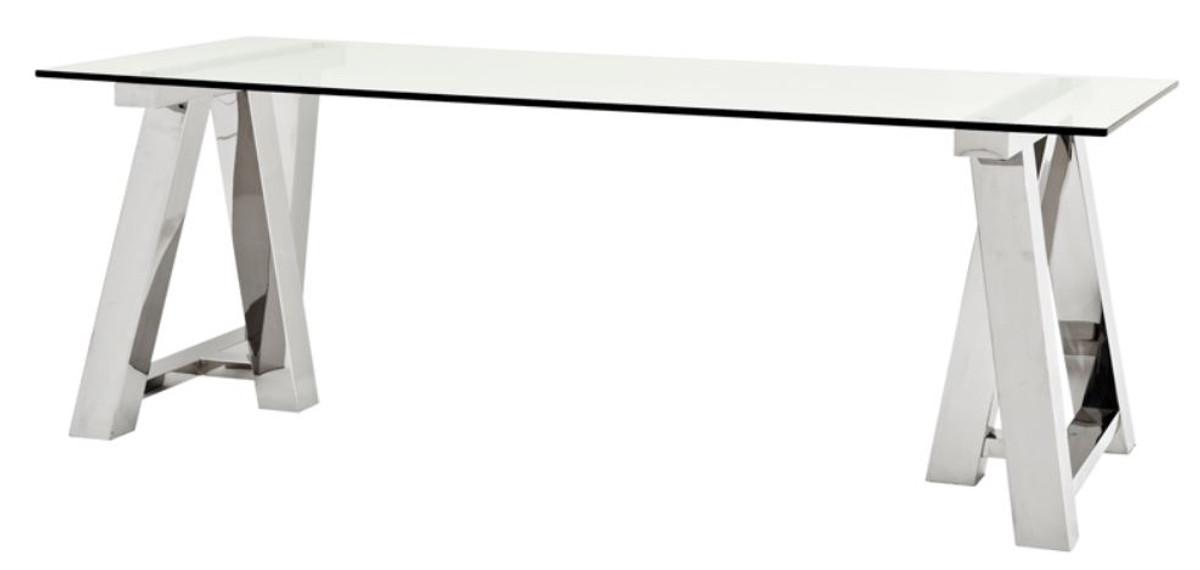 Designer Esszimmermöbel casa padrino luxus esstisch 220 x 90 x h 78 cm designer
