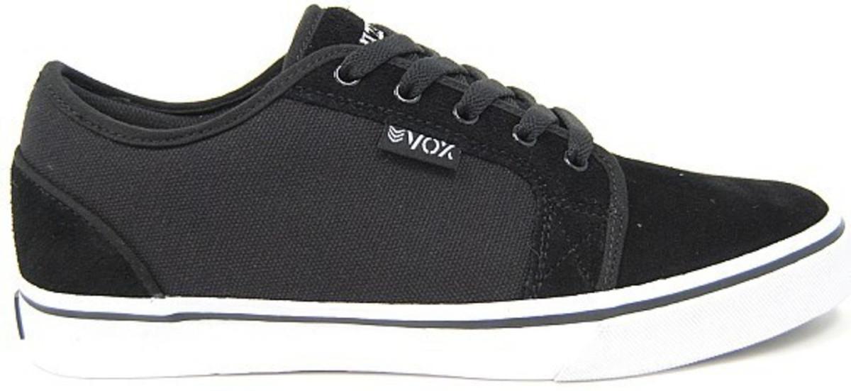 Vox Skateboard Schuhe Deuce schwarz Weiß