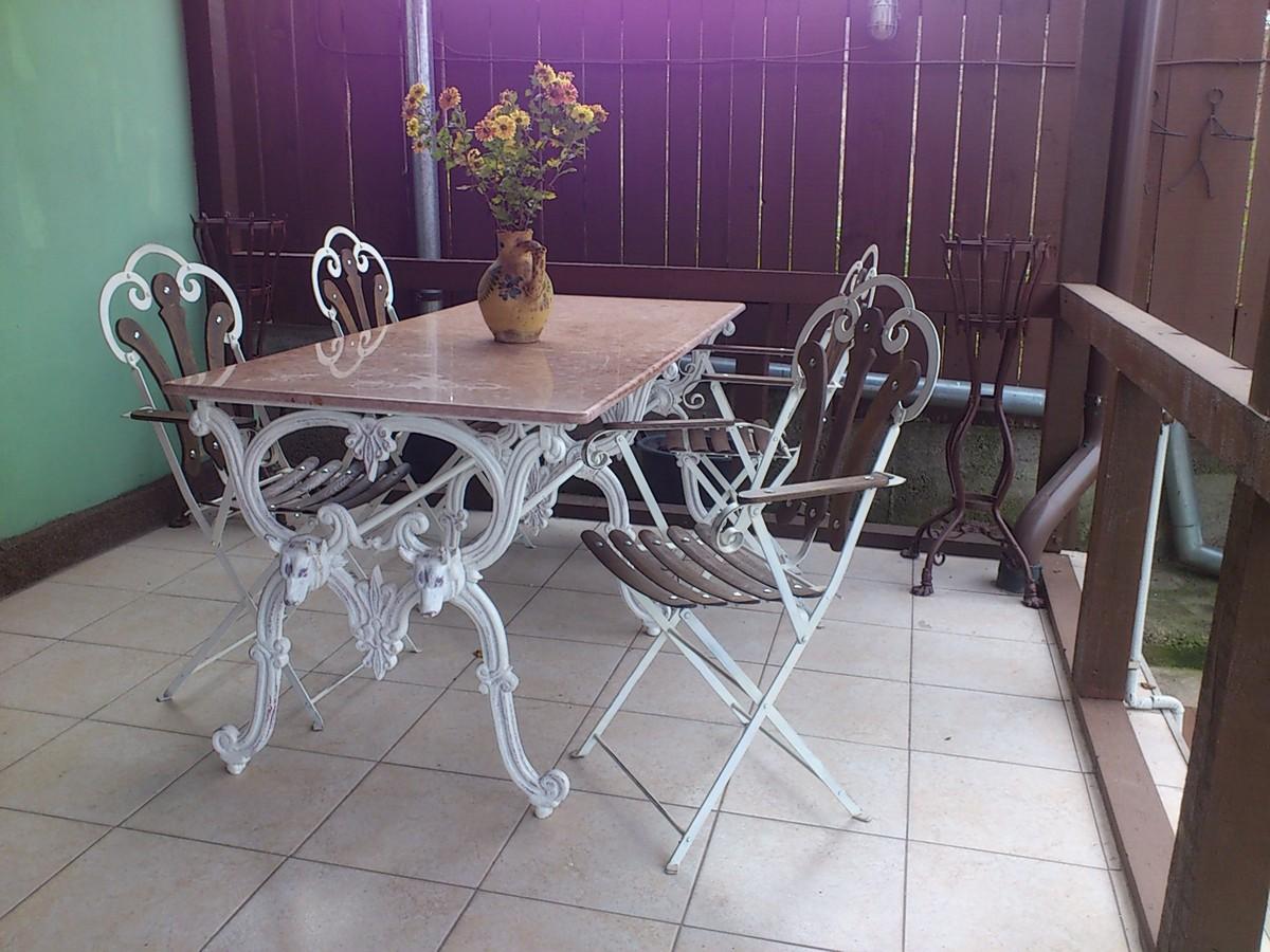 Casa Padrino Luxus Jugendstil Gartenmobel Set Antik Weiss 1