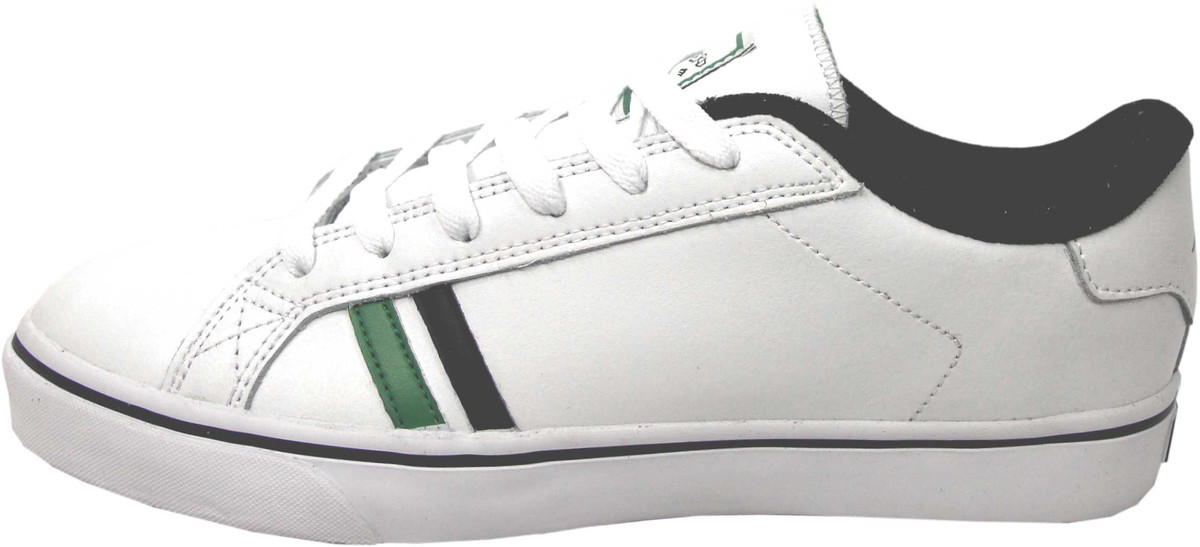 Emerica Skateboard Schuhe Leo SMU Weiß   schwarz   Grün - Turnschuhe Turnschuhe schuhe Leo Romero