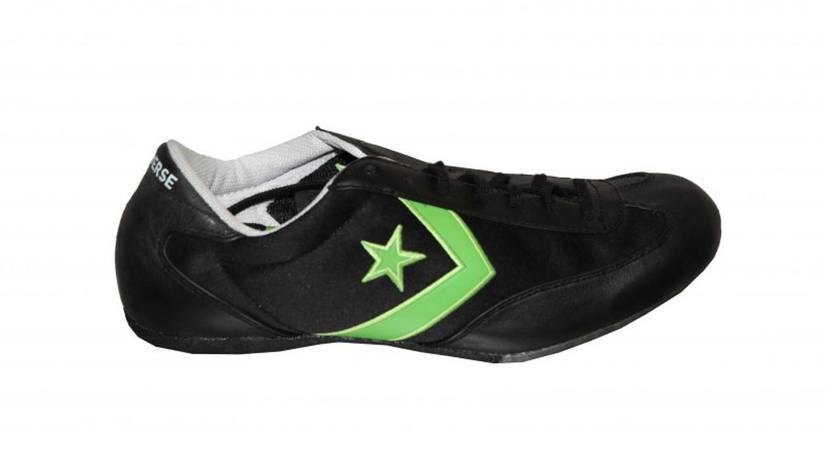 Converse Skateboard Schuhe Solo Dash Ox schwarz   Grün Turnschuhe schuhe