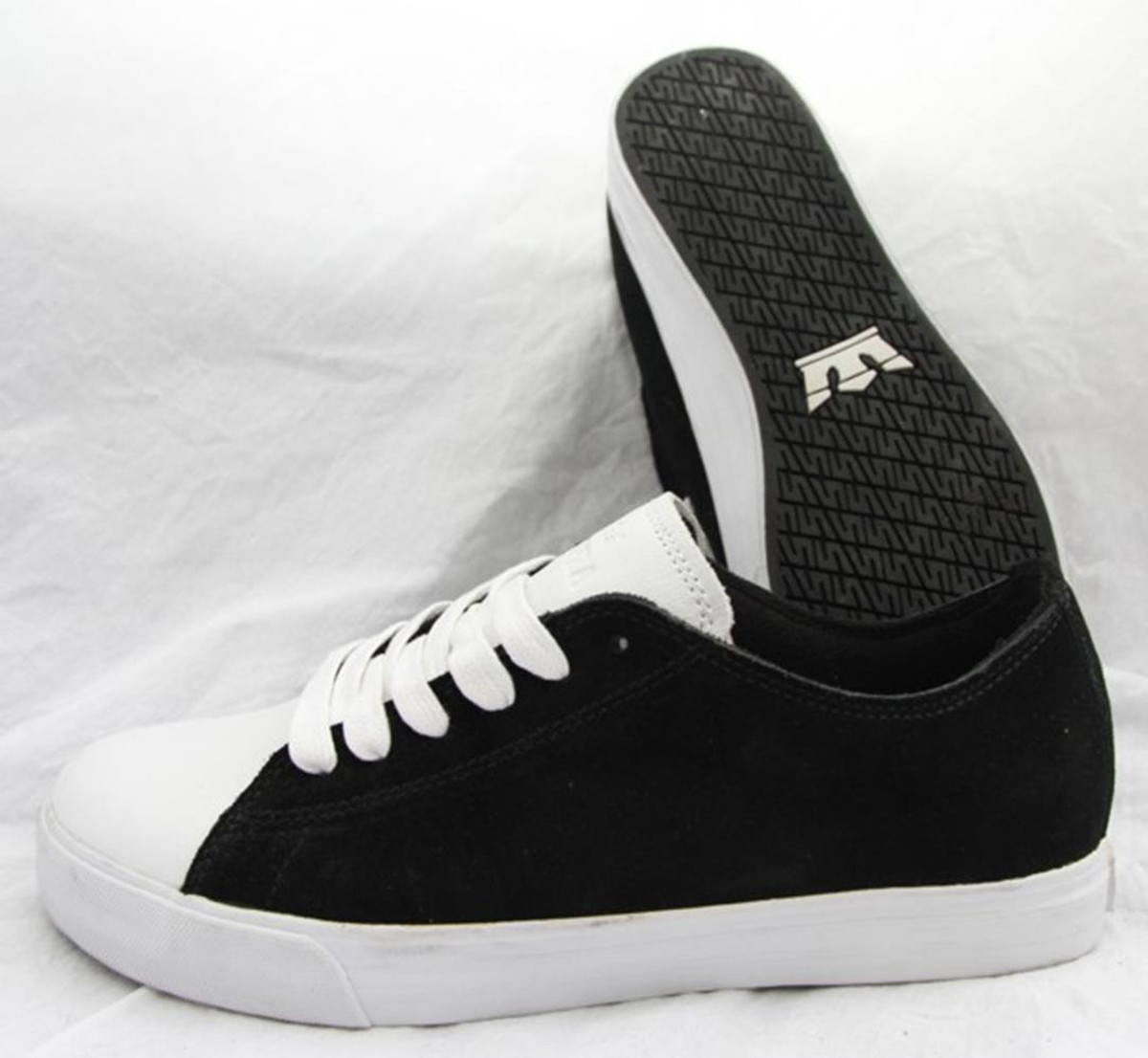 SUPRA Skateboard Styler Schuhe Thunder Low Low Low schwarz Weiß 6fd2ad