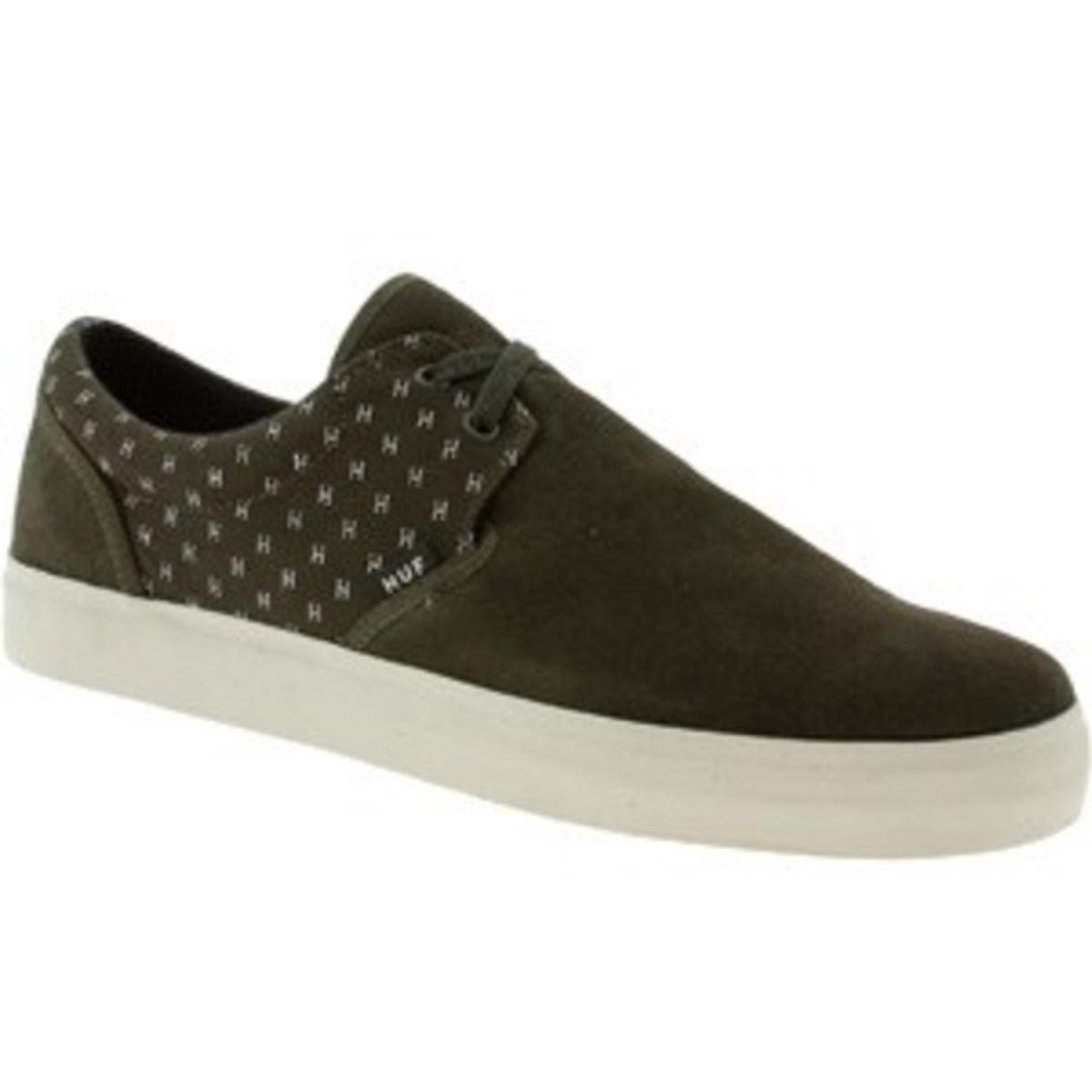 HUF- Skateboard Schuhe- Genuine-- Olive Cream  Olive Cream