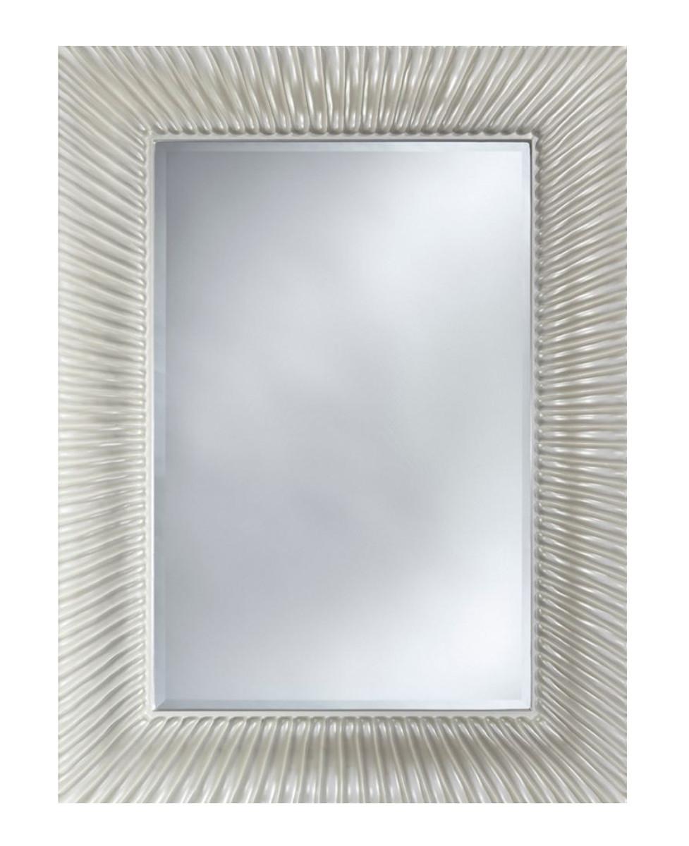 Casa Padrino Designer Spiegel 10 x H. 10 cm - Designer Wohnzimmer  Wandspiegel