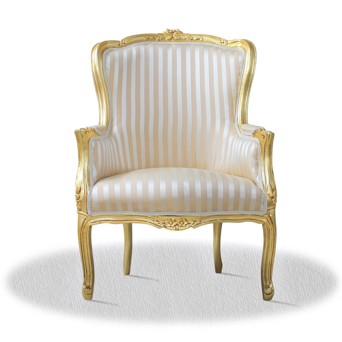 Casa Padrino Barock Antik Stil Salon Sessel 70 X 65 X H 100 Cm