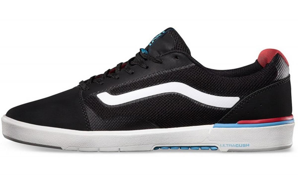 Vans Skateboard Schuhe Locus BlackRed Sneaker Skate Shoes Sneakers