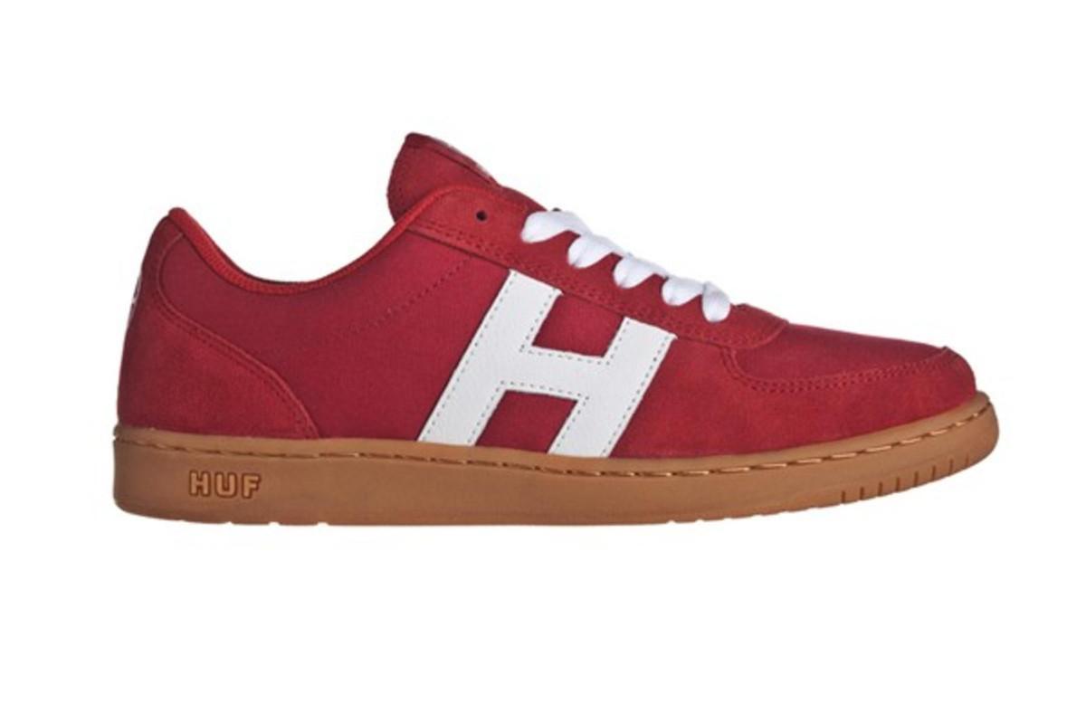 HUF Skateboard Schuhe 1984- rot   Gum Turnschuhe Turnschuhe schuhe rot Gum