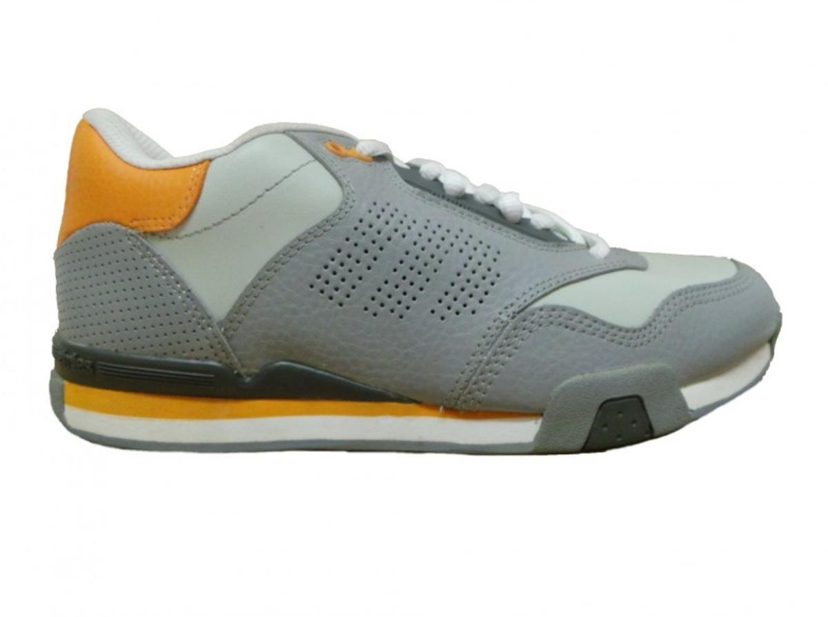 Etnies Skateboard Schuhe Arrow grau Orange Weiß