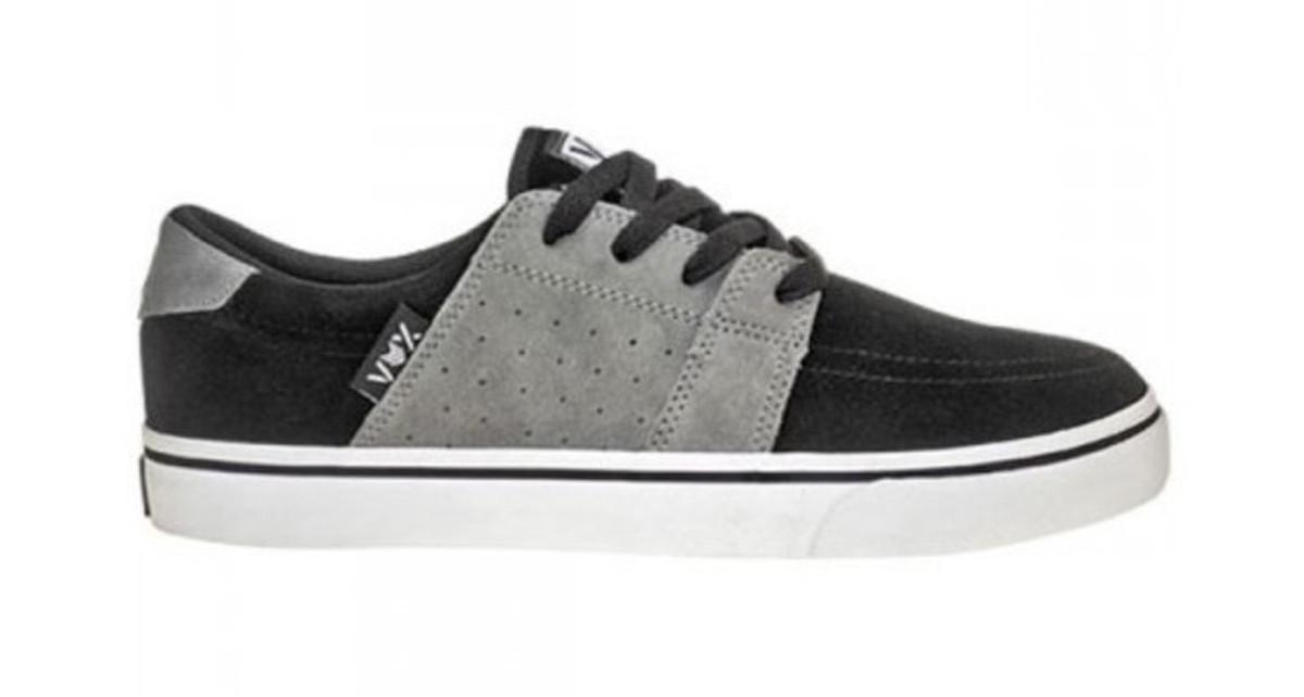 Vox Skateboard Schuhe Corpsey schwarz grau schwarz grau