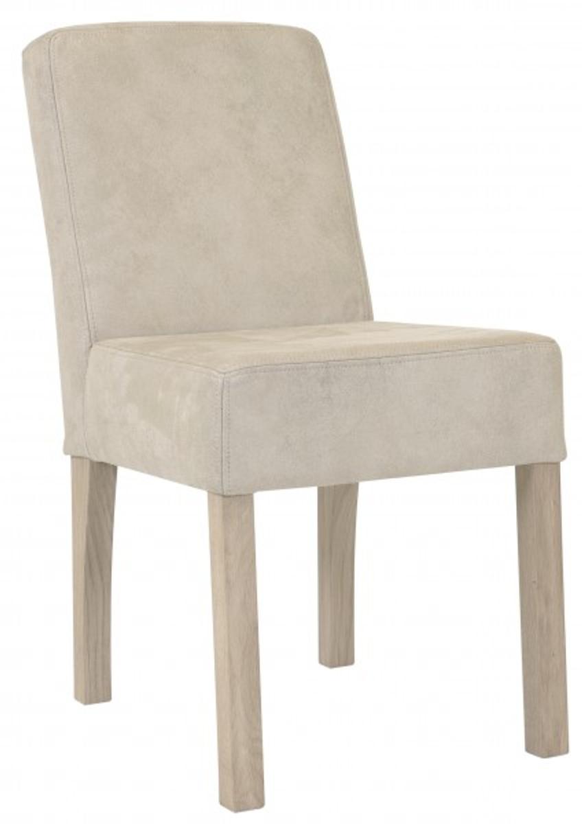 Tremendous Stuhl Esszimmer Leder Collection Of Casa Padrino Designer Modef 35 Beige -
