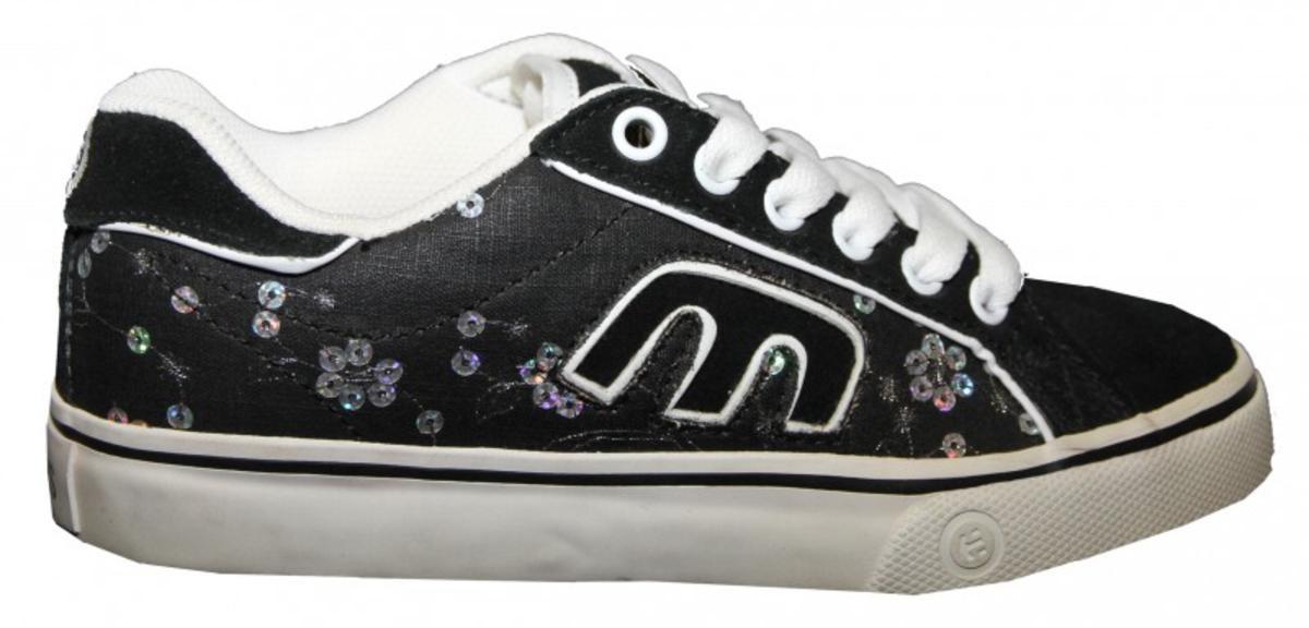 Etnies Skateboard Schuhe Calli Vulc BackWhite Etnies Shoes