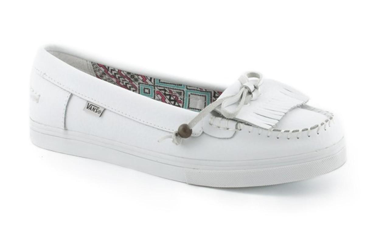 Vans Damen Schuhe Mikalah Weiß Tundra