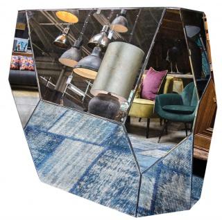 Casa Padrino Designer Konsole mit antikem Spiegelglas 125 x 54 x H. 100 cm - Designer Kollektion - Vorschau 2