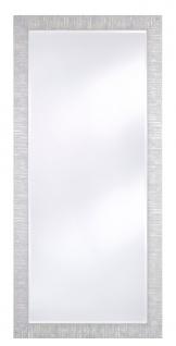Casa Padrino Wohnzimmer Spiegel Silber 85 x H. 185 cm - Luxus Accessoires