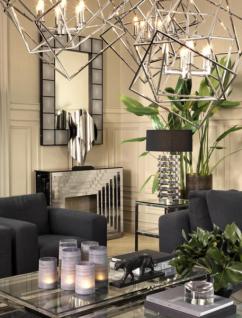 Casa Padrino Luxus Art Deco Designer Couchtisch 140 x 85 x H. 41 cm ...