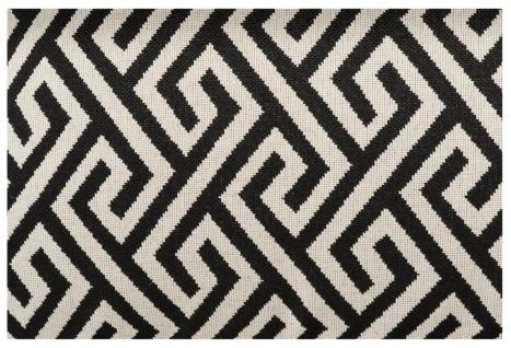 Casa Padrino Luxus Kissen Schwarz / Weiß 40 x 60 cm - Wohnzimmer Deko - Vorschau 4