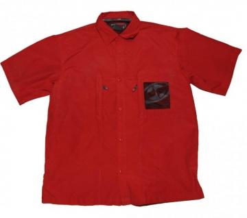 Split Skateboard Hemd Red Shirt