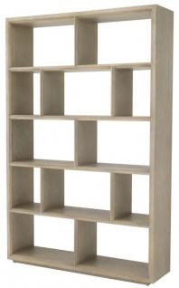 Casa Padrino Regalschrank / Bücherschrank Hellbraun 150 x 40 x H. 230 cm - Luxus Schrank