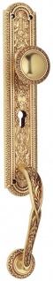Casa Padrino Jugendstil Türgriff / Türknauf Set Französisches Gold 7 x H. 50, 5 cm - Luxus Qualität