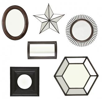 Casa Padrino Luxus Spiegel 6er Set - Designer Wandspiegel Set