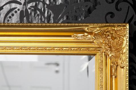 Handgefertigter Barock Wandspiegel Gold Antik, Höhe 55 cm, Breite 45 cm, Tiefe 4 cm - Edel & Prunkvoll - Vorschau 4