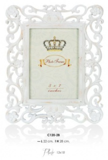Casa Padrino Barock Bilderrahmen Antik Stil 28 x 22 cm - Bilder Rahmen Foto Rahmen Jugendstil Antik Stil Mod AX19