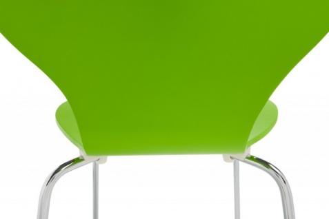 Casa Padrino Designer Stuhl Form Grün 8579 - Vorschau 5