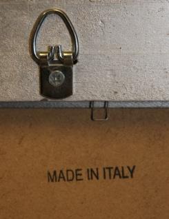Casa Padrino Barock Holz Bilderrahmen 144 x 84 cm Silber - Großer Bilder Rahmen Foto Rahmen Jugendstil Antik Stil - Made in Italy - Vorschau 3