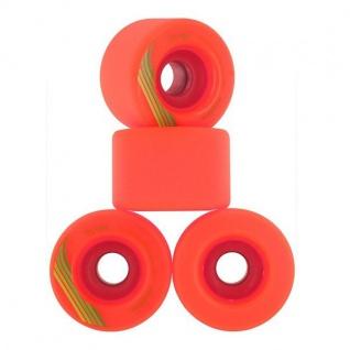 Orangetang Longboard Profi Wheels The Cage 73mm / 80a Orange - Longboard Cruiser Wheel Set (4 Rollen)