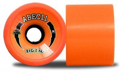 ABEC 11 Reflex ZigZags Orange Plus 89A 66mm Rollen (4 Stück)