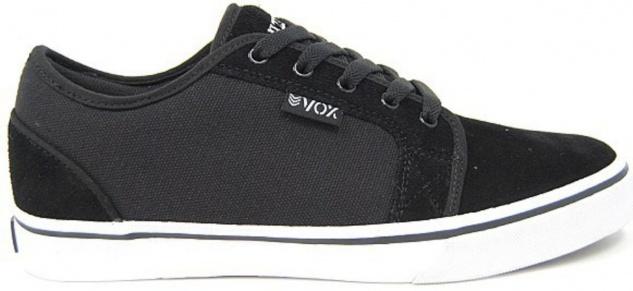 Vox Skateboard Schuhe Deuce Black/White